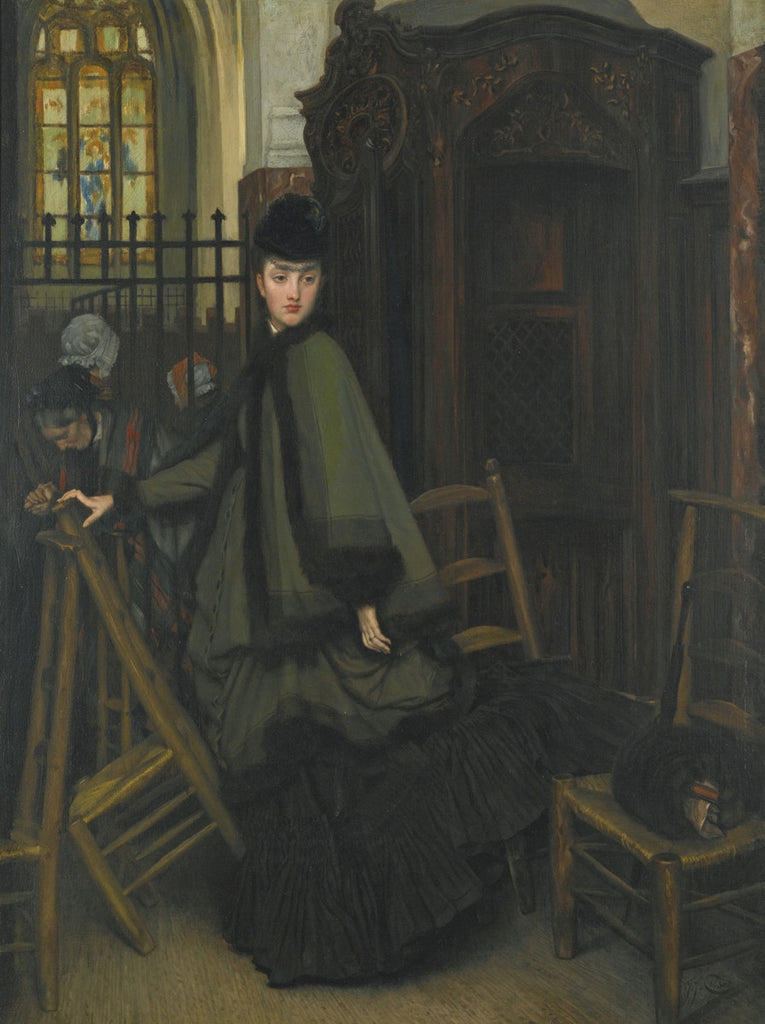 James Tissot - In Church