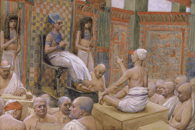 James Tissot - Joseph Interprets Pharaoh's Dream