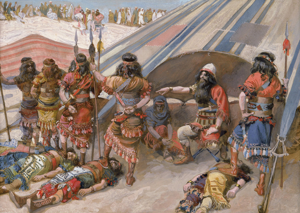 James Tissot - Joshua and the Five Kings