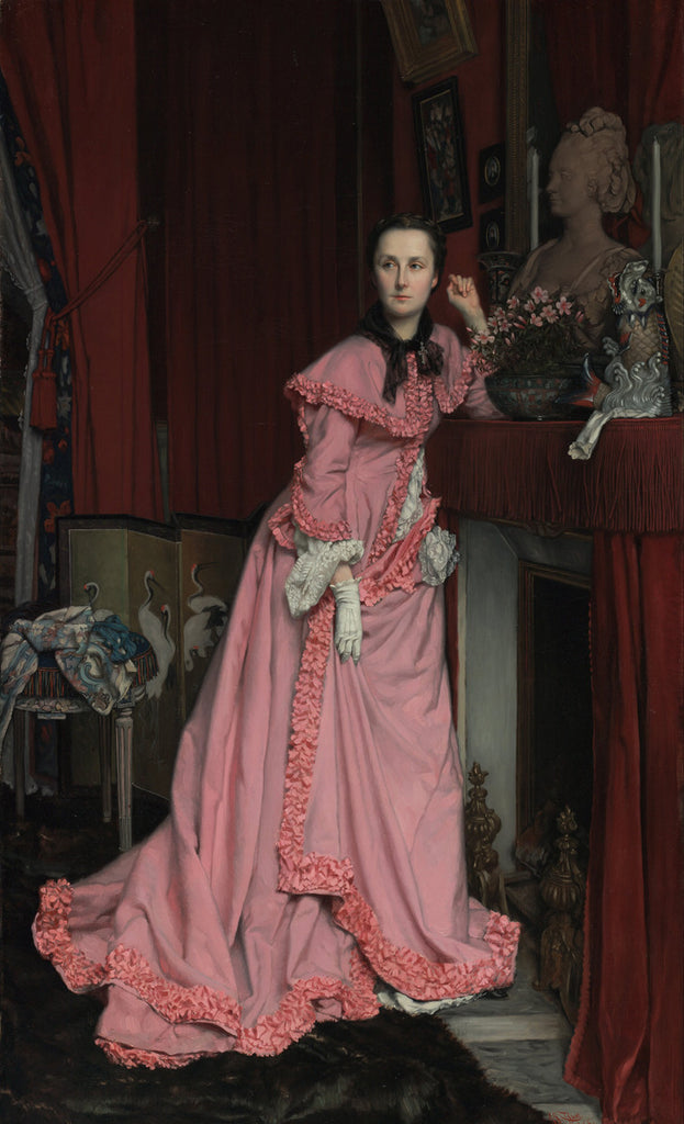 James Tissot - Portrait of the Marquise de Miramon