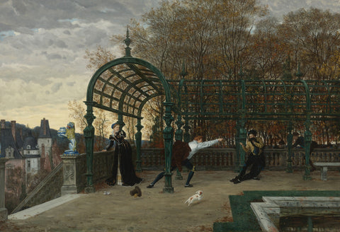 James Tissot - The Attempted Abduction