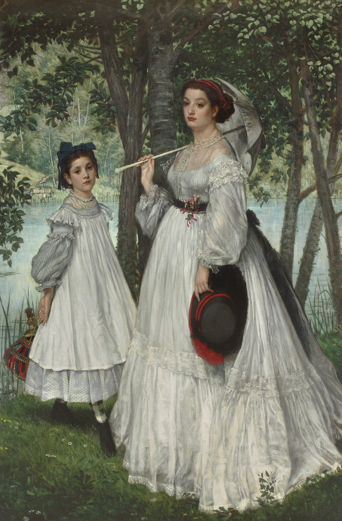 James Tissot - The Two Sisters