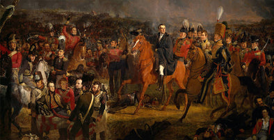Jan Willem Pieneman - The Battle of Waterloo