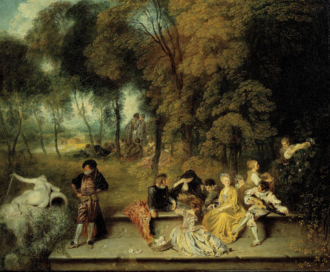 Jean-Antoine Watteau - Pleasures of Love