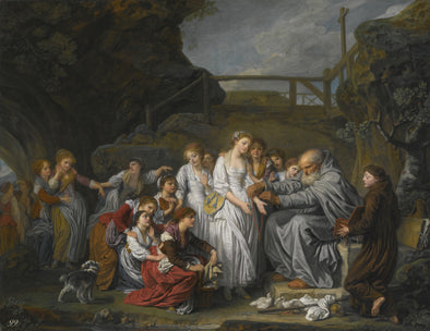 Jean Baptiste Greuze - The Hermit or the Distributor of Rosaries