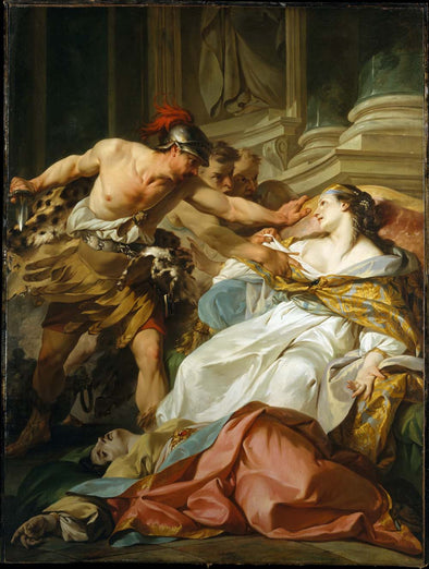 Jean-Baptiste Marie Pierre - The Death of Harmonia
