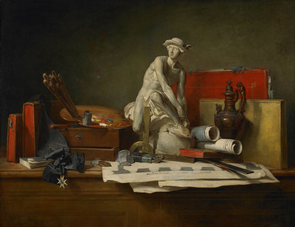 Jean-Baptiste-Simeon Chardin - The Attributes of the Arts and the Rewards Which Are Accorded Them