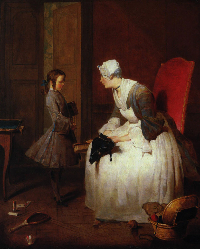 Jean-Baptiste-Simeon Chardin - The Governess