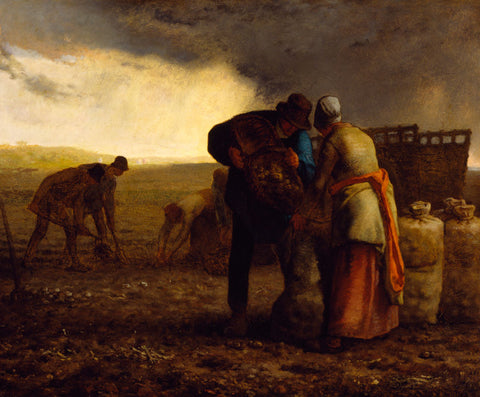 Jean-Francois Millet - The Potato Harvest