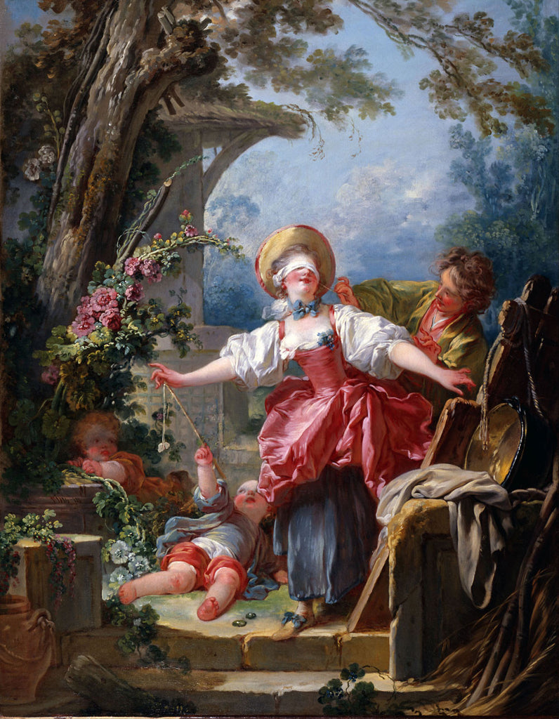 Jean-Honore Fragonard - Blind Man's Buff