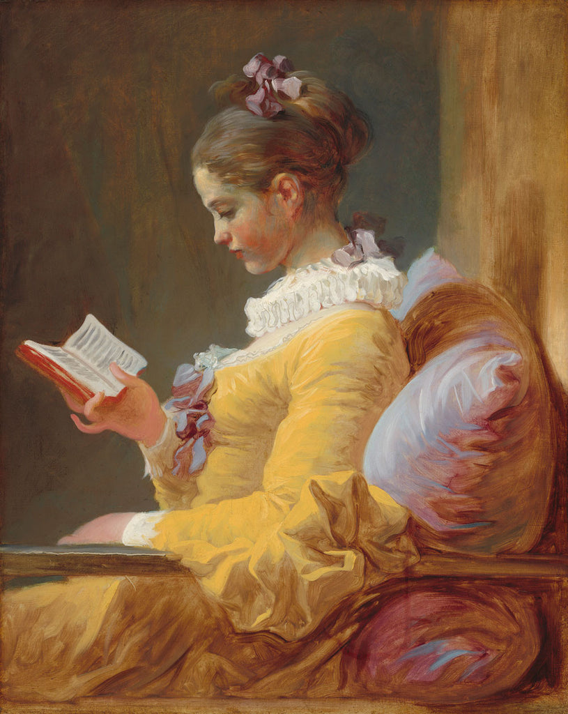 Jean-Honore Fragonard - The Reader
