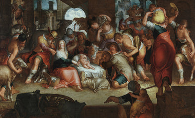 Joachim Wtewael - Adoration by the Shepherds