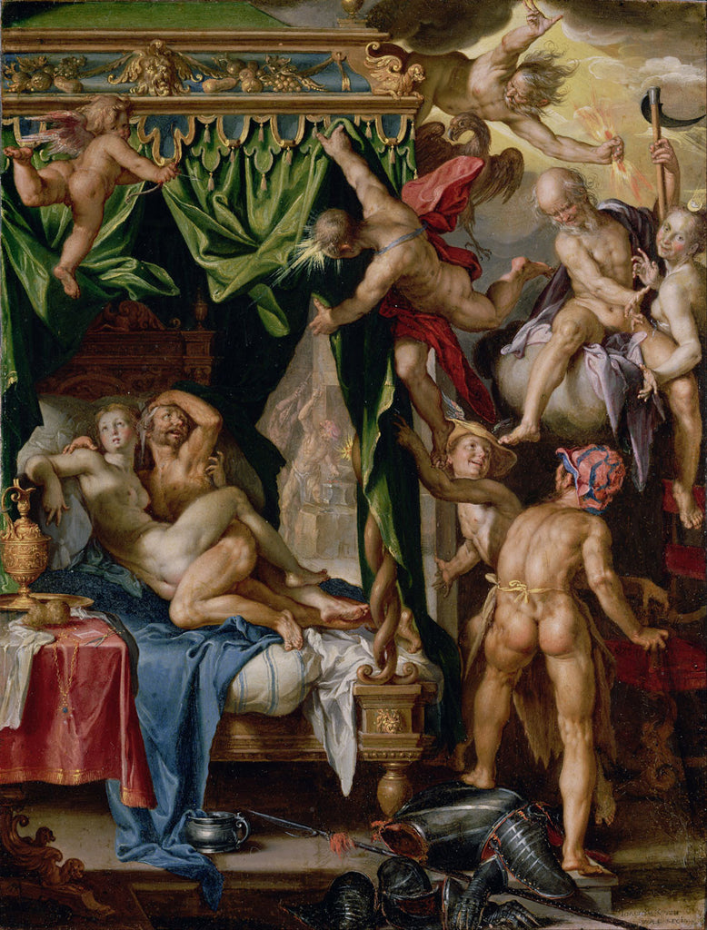 Joachim Wtewael - Mars and Venus Discovered by the Gods