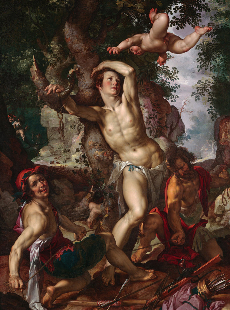 Joachim Wtewael - The Martyrdom of Saint Sebastian