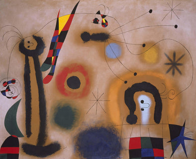 Joan Miró - Dragonfly with red wings