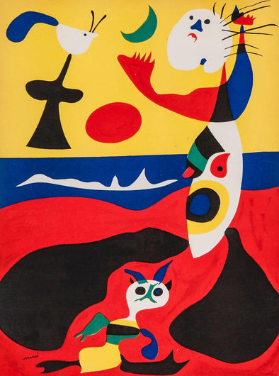Joan Miró - Summer