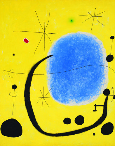 Joan Miró - The Gold of the Azure
