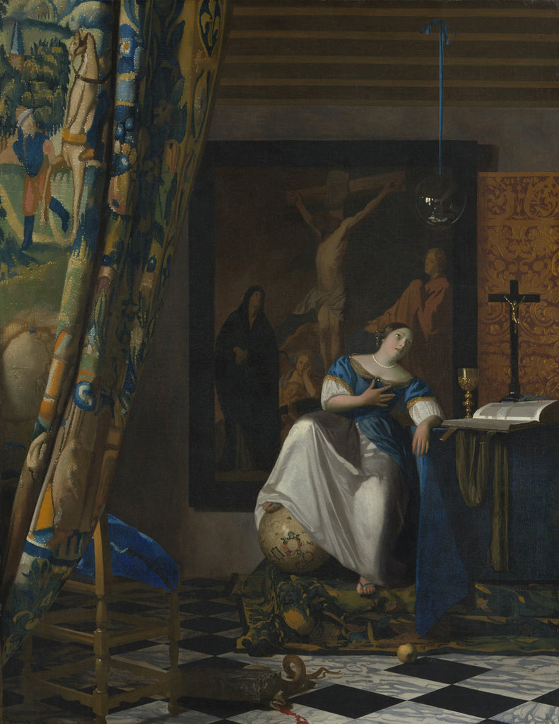 Johannes Vermeer - Allegory of the Catholic Faith