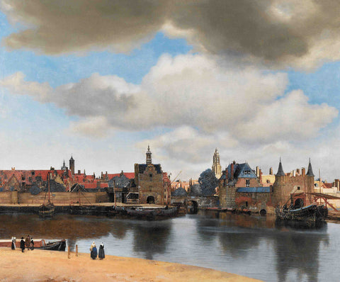 Johannes Vermeer - View of Delft