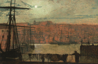 John Atkinson Grimshaw - Whitby from Station Quary