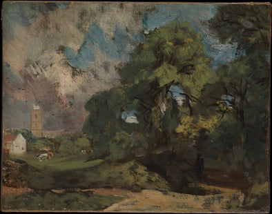 John Constable - Stoke by Nayland