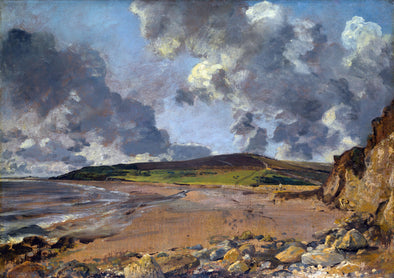 John Constable - Weymouth Bay, Bowleaze Cove and Jordon Hill
