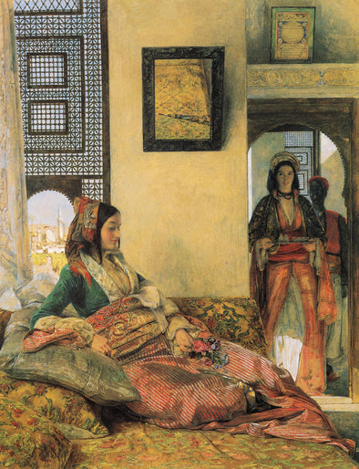 John Frederick Lewis - Life in the Hareem Cairo