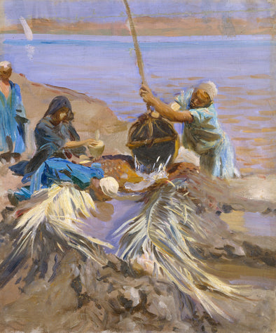 John Singer Sargent - Egyptians Raising Water from the Nile