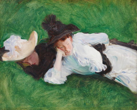 John Singer Sargent - Two Girls on a Lawn
