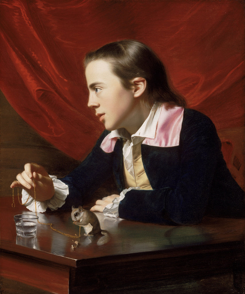 John Singleton Copley - The Boy with the Squirrel