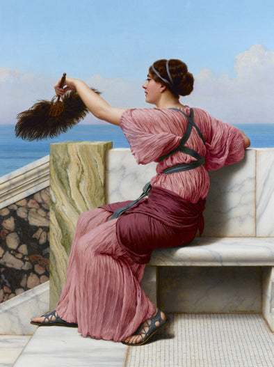 John William Godward - A Signal