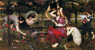 John William Waterhouse - Flora and the Zephyrs