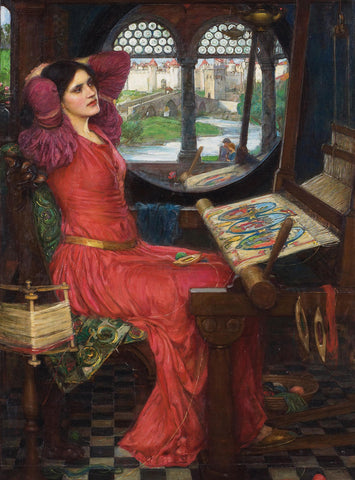 John William Waterhouse - I am Half Sick of Shadows