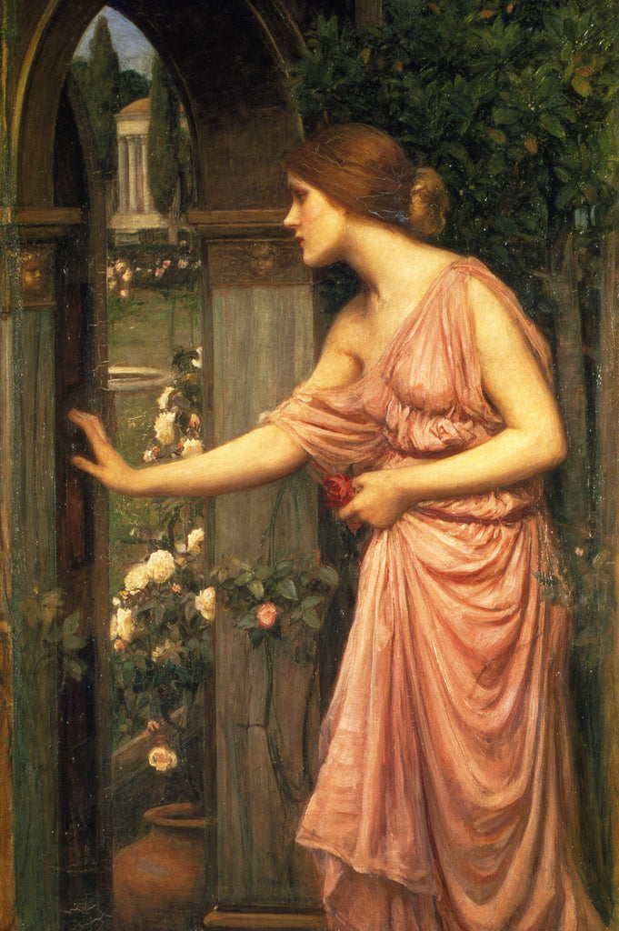 John William Waterhouse - Psyche Entering Cupids Garden
