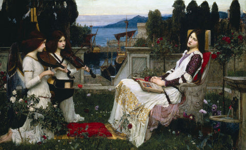 John William Waterhouse - Saint Cecilia
