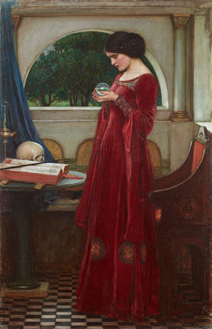 John William Waterhouse - The Crystal Ball