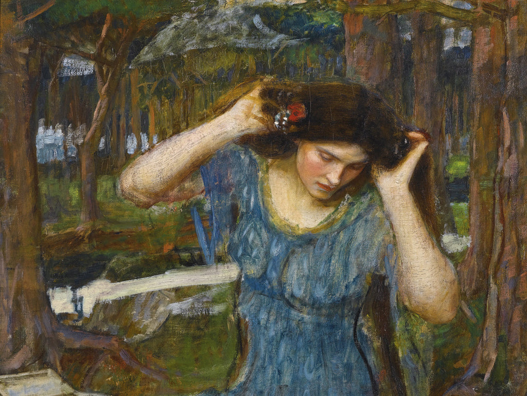 John William Waterhouse - Vain Lamorna a Study for Lamia