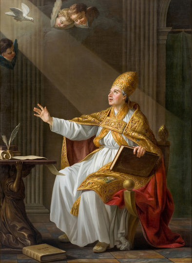 Joseph-Marie Vien - Pope St. Gregory the Great