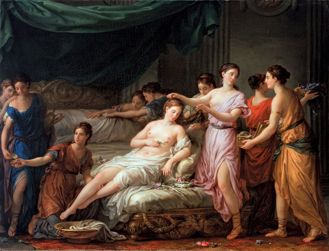 Joseph-Marie Vien - Preparations for the Bride
