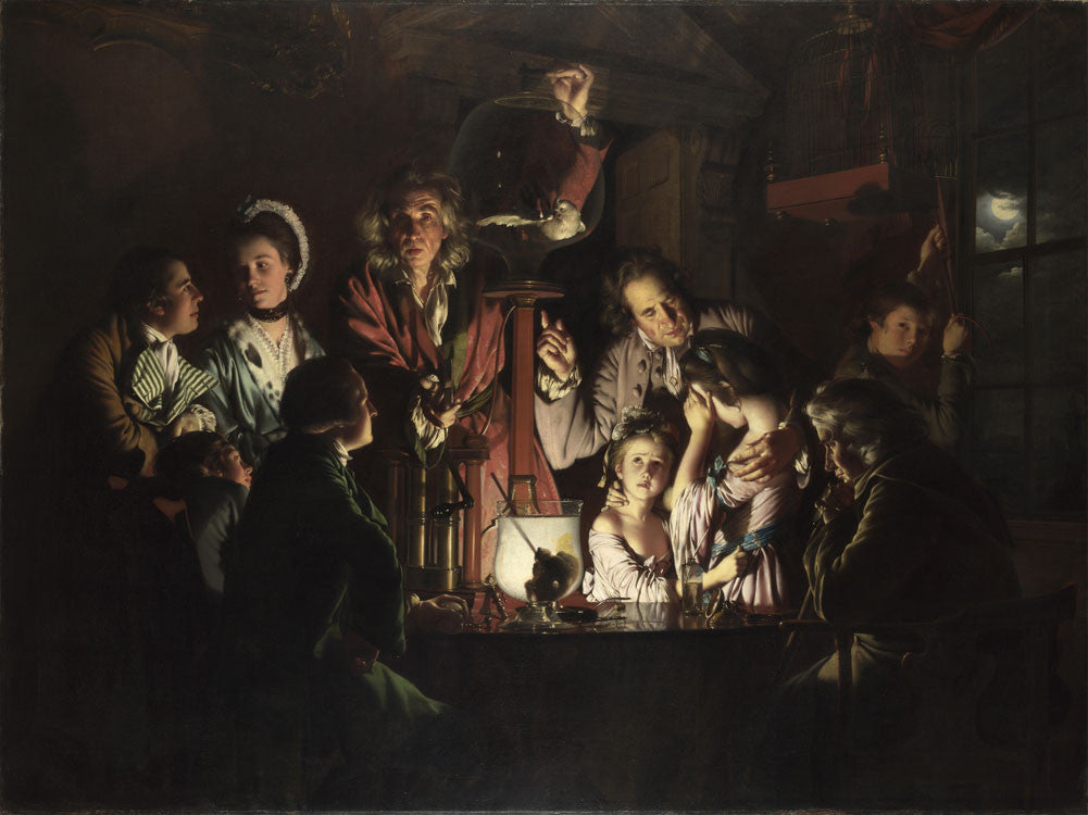 Joseph Wright of Derby - An Experiment on a Bird in an Air Pump