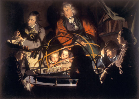 Joseph Wright of Derby - Philosopher Giving a Lecture on the Orrery