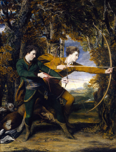 Joshua Reynolds - Colonel Acland and Lord Sydney The Archers
