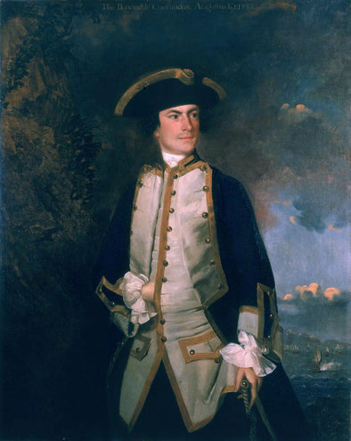 Joshua Reynolds - Commodore the Honourable August Keppel