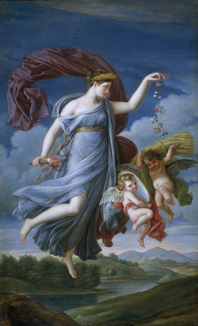 Juan Antonio Ribera - Allegory of the Summer