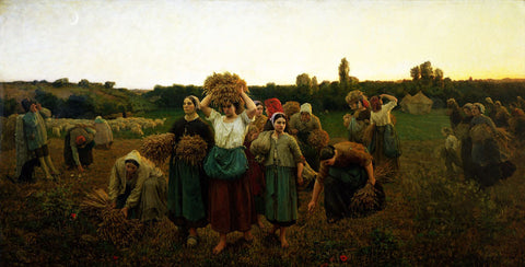 Jules Breton - Calling in the Gleaners