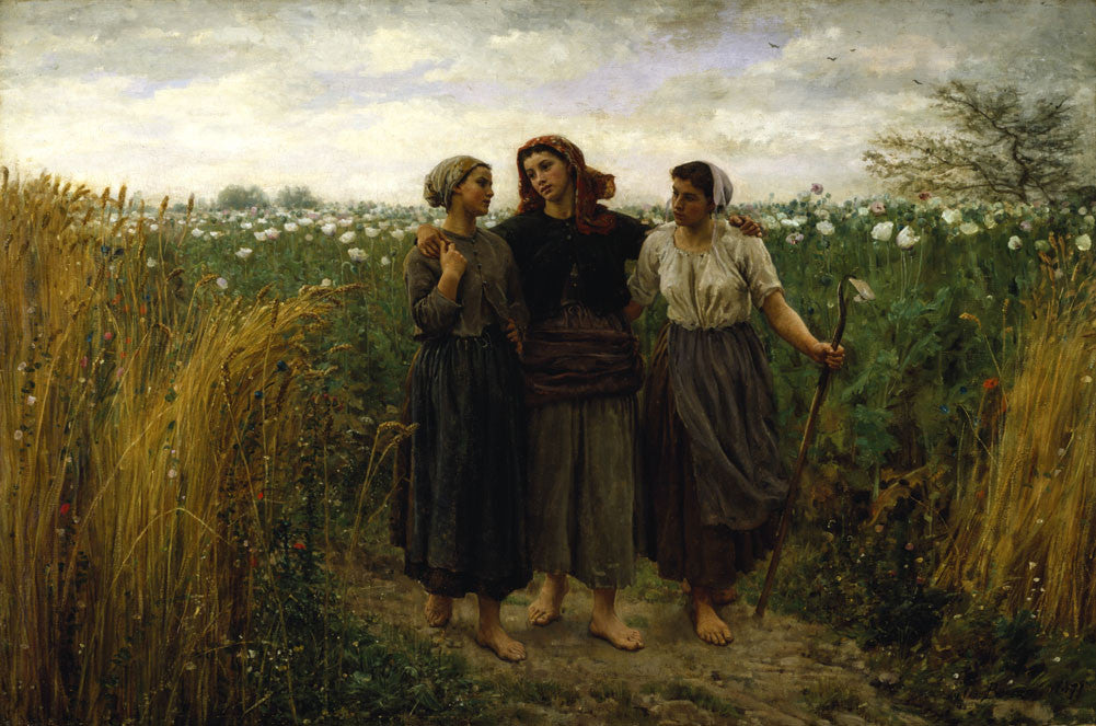 Jules Breton - Returning from the Fields