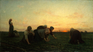 Jules Breton - The Weeders