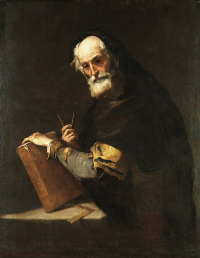 Jusepe de Ribera - A Philosopher, Presumed to be Archimedes