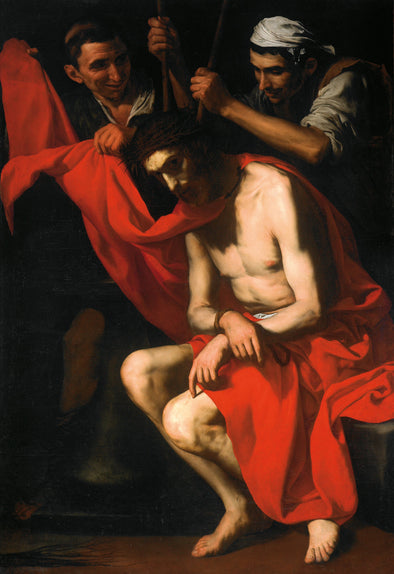 Jusepe de Ribera - Crowning with Thorns