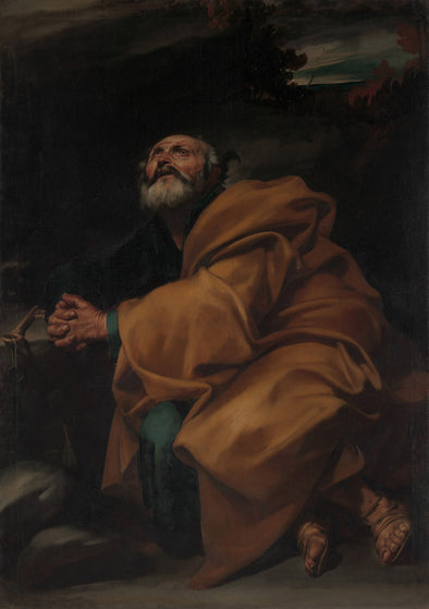 Jusepe de Ribera - The Tears of Saint Peter